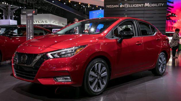 Nissan Almera 大改款最快明年上半年引进我国!