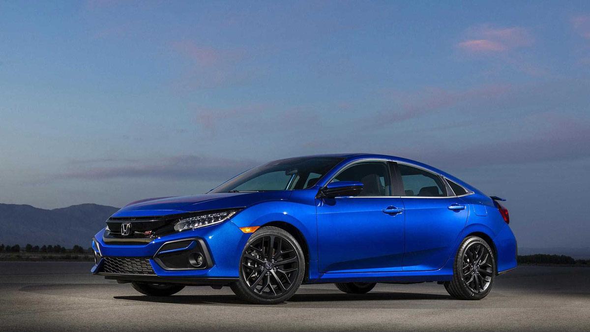 2020 Honda Civic Si 登场,1.5涡轮引擎最大马力205 Hp