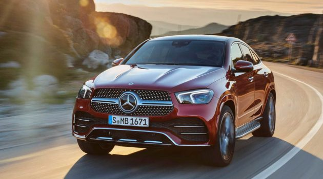 2021 Mercedes-Benz GLE Coupe 与 AMG GLE 53 强势亮相