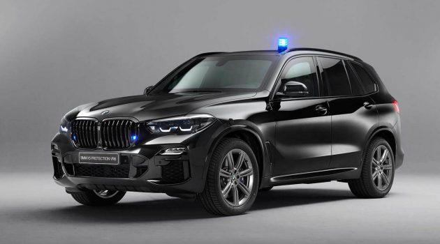 BMW X5 Protection VR6 防弹车,532 Hp,5.9秒破百