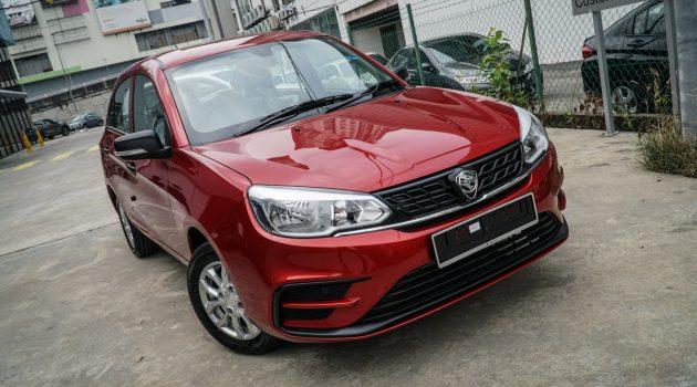 2019 Proton Saga Standard 版实车鉴赏!