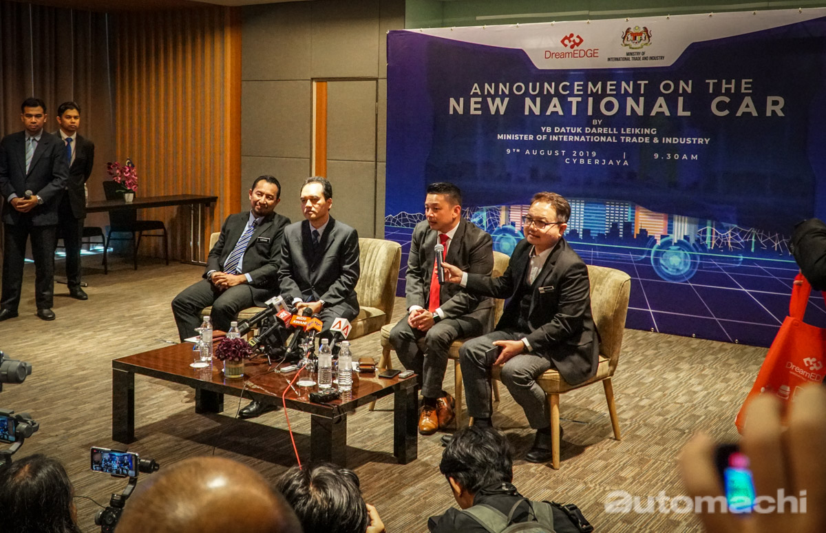DreamEDGE 获选成为 New National Car 生产商!