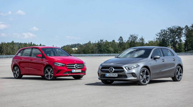 Mercedes-Benz A250e PHEV 正式发布,215 Hp / 450 Nm