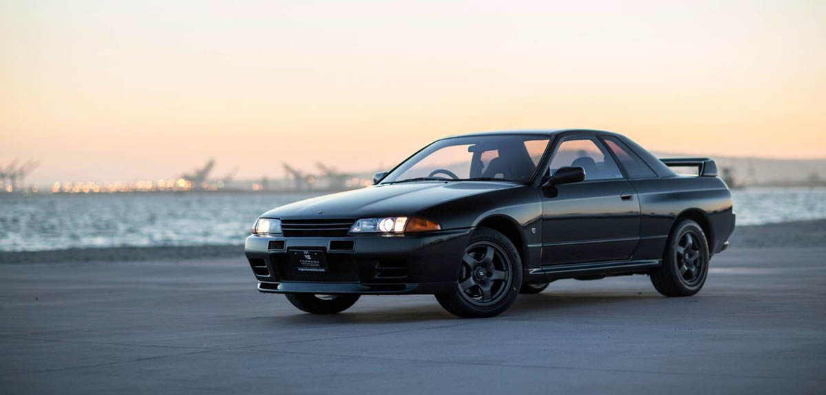 Nissan Skyline GT-R R32,永远的东瀛战神