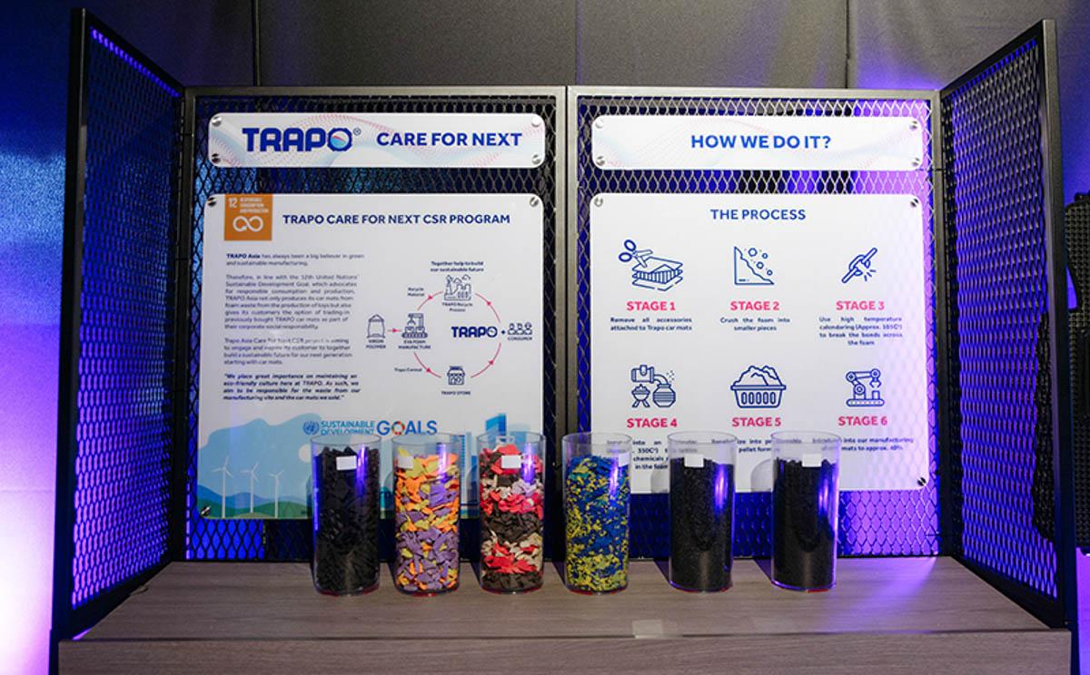Trapo 公司正式发布 Trapo Mark ll 汽车脚垫。