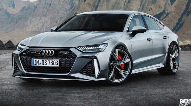 Audi RS7 移植 RS6 Avant 前脸,阳刚味尽现