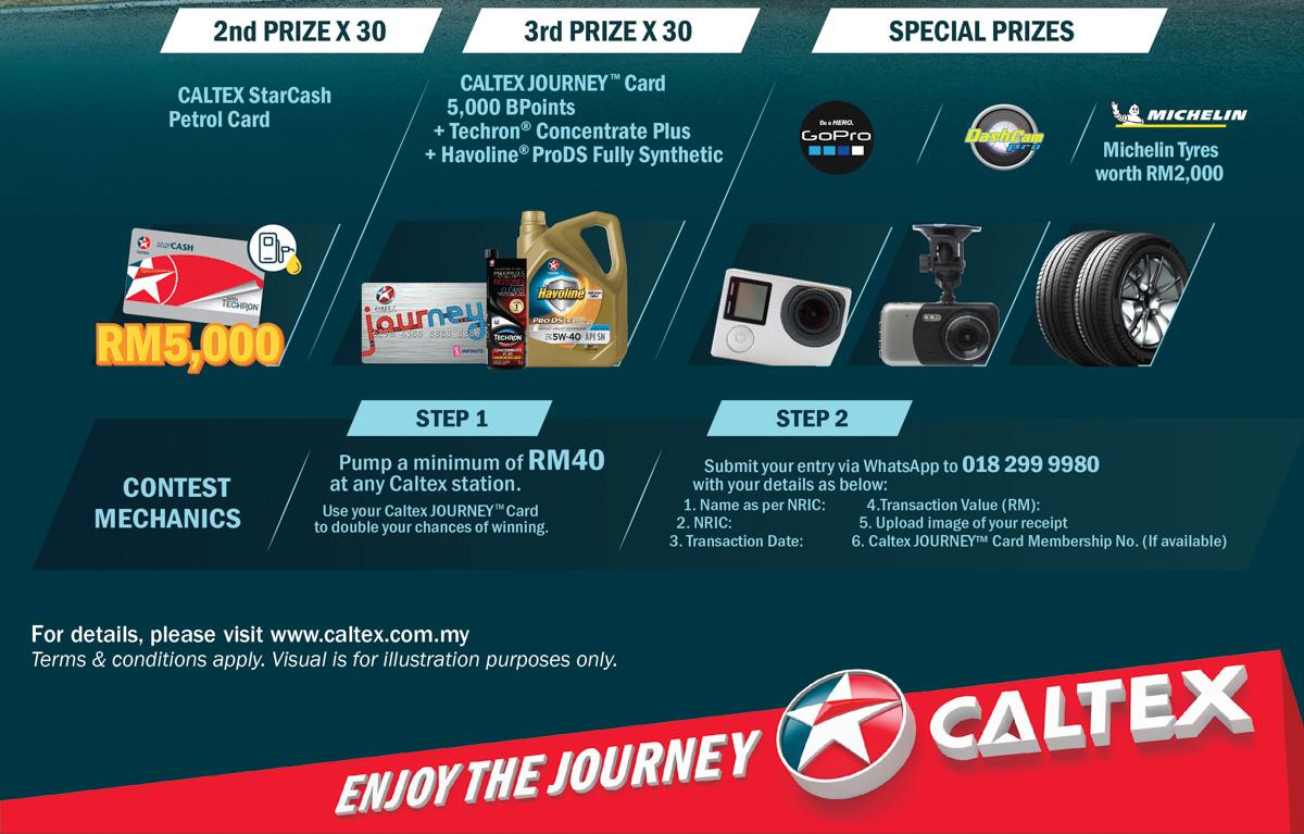 Caltex 有奖竞赛开跑,全新 Volvo XC40 有待赢取