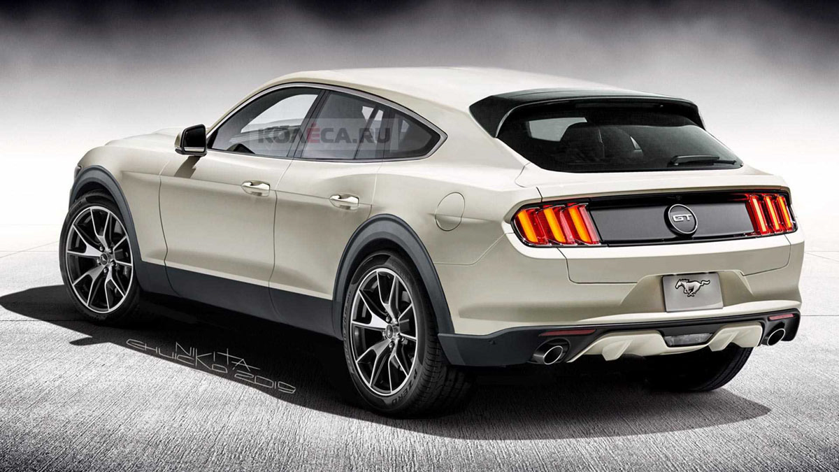 Ford Mustang Crossover 或取名 Ford Mach E