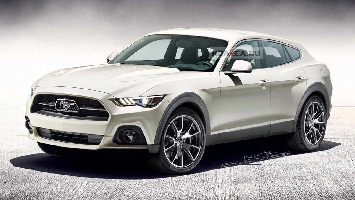 Ford Mustang Crossover 洛杉矶车展全球首发