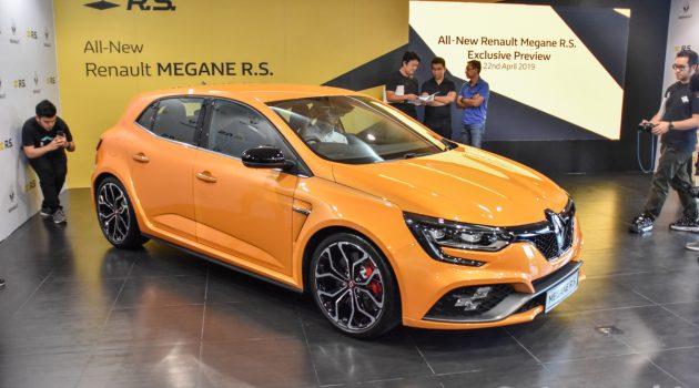 Renault Megane RS 正式发表,售价从RM 279,888起跳