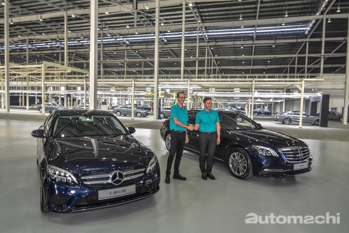 Mercedes-Benz Malaysia 在我国累计组装100,000辆汽车