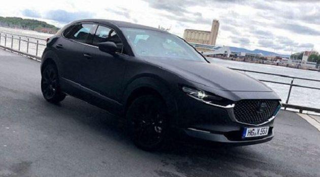 传说中的转子 EV? Mazda 神秘休旅测试车现身