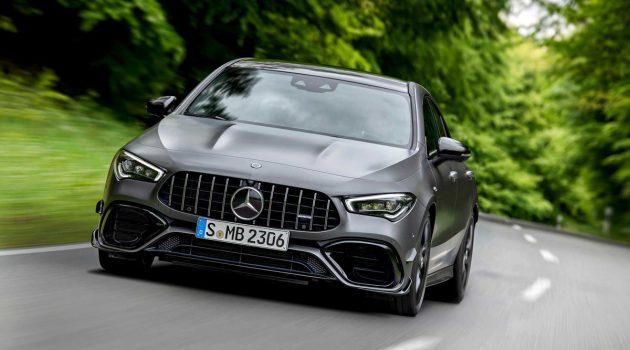 网上预告来临! Mercedes-AMG CLA 45 即将抵马?