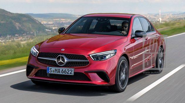 巨屏中控现身,新一代 Mercedes-Benz C-Class 内饰曝光