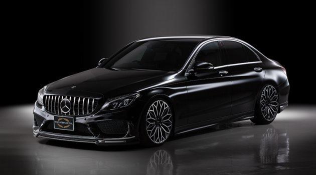 杀气十足, Mercedes-Benz C-Class WALD 套件登场