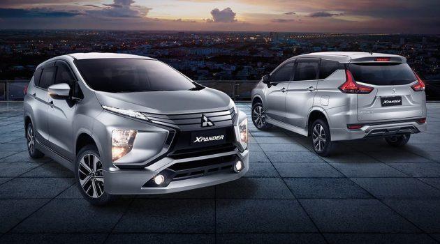 CKD 组装, Mitsubishi Xpander 或今年登场