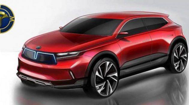 未来很可能会成为我国第三国产车的 Mimco 设计草图抢先曝光!