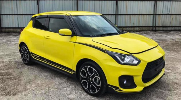Recon Suzuki Swift Sport ZC33S 现身我国,售价 RM 138,000