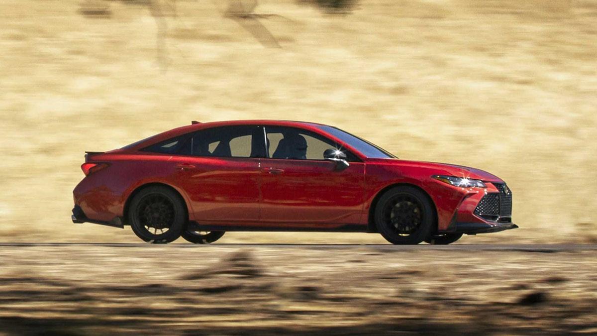 Toyota Avalon TRD ,更为运动的E-Segment房车