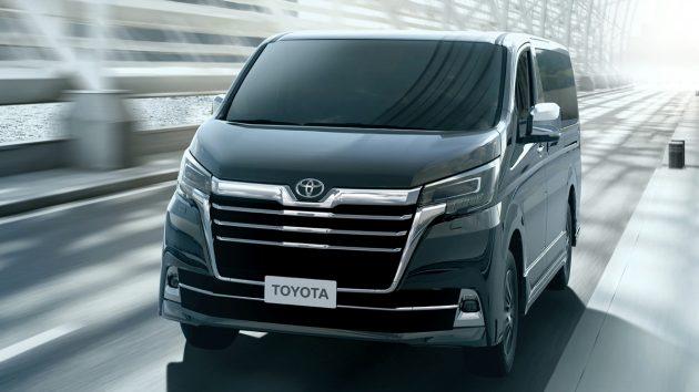 豪华多人座商旅车, Toyota Majesty 这个月登陆泰国