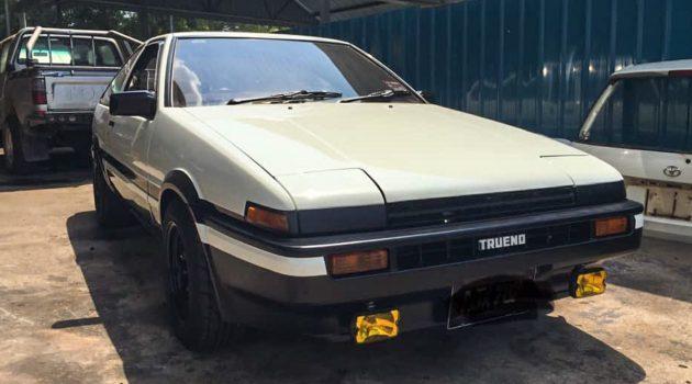 状态 Fit Fit ,稀有 Toyota Sprinter Trueno AE86 寻找新车主