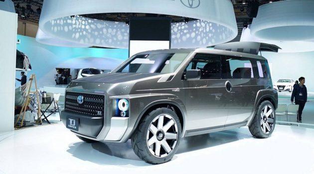 小型硬派 SUV ,量产版 Toyota TJ Cruiser 或10月登场