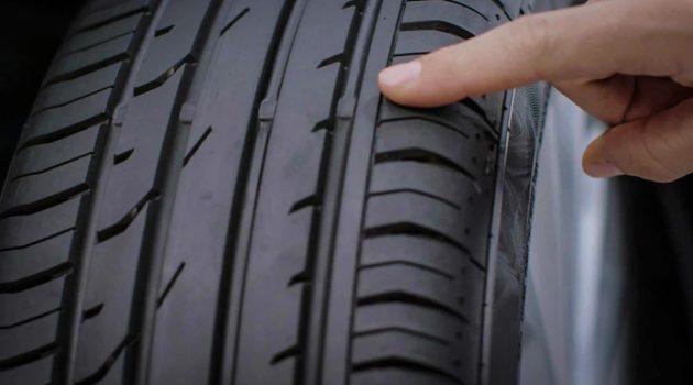 轮胎花纹深度( Tyre Tread Depth )对刹车距离的影响