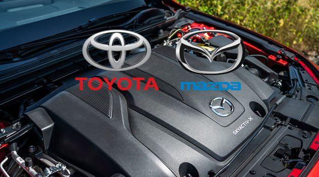 Toyota 和 Mazda 将共同研发3.0L Skyactiv-X 引擎!