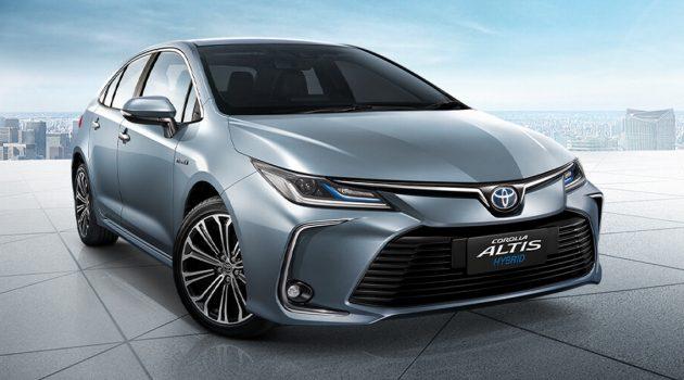 2019 Toyota Corolla Altis 泰国发表,RM 114,054 起跳