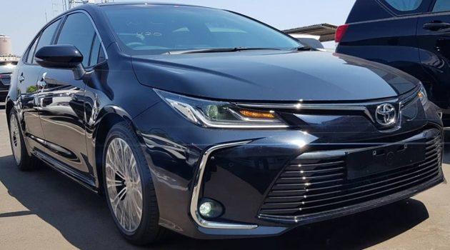 印尼版 2019 Toyota Corolla 实车照,即将登陆我国