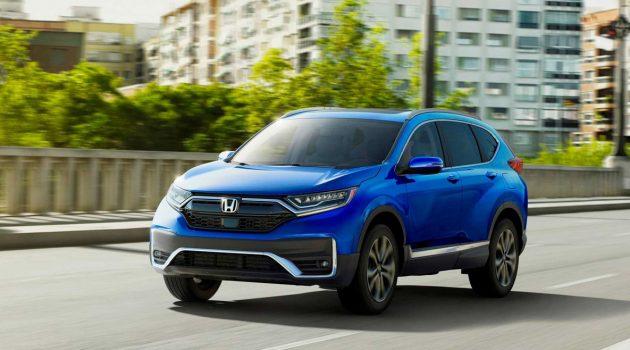 2020 Honda CR-V 美国发表,新增双马达 Hybrid 车型