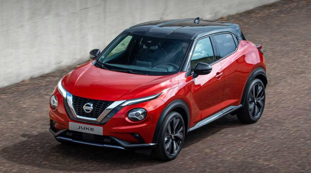 1.0L 涡轮+双离合变速箱, 2020 Nissan Juke 正式发表
