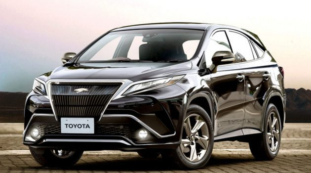 Toyota Harrier 大改款将在明年正式登场