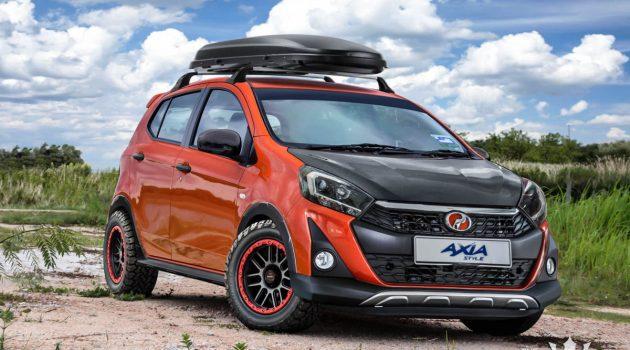 更具越野风格, Perodua Axia Style 改装假想图出炉