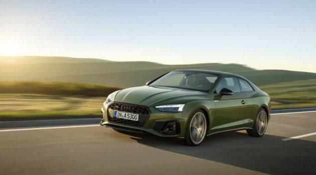 小改款 Audi A5 / S5 发布,全新3.0L六缸涡轮引擎入列