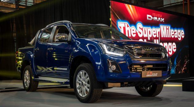 升级版 Isuzu D-Max 登场,全新1.9L引擎入列,售价 RM 80,149 起跳