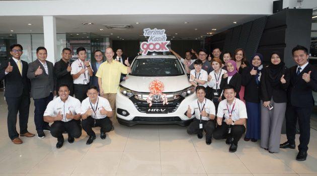 Honda Malaysia 举办 Road To 900,000th 有奖活动