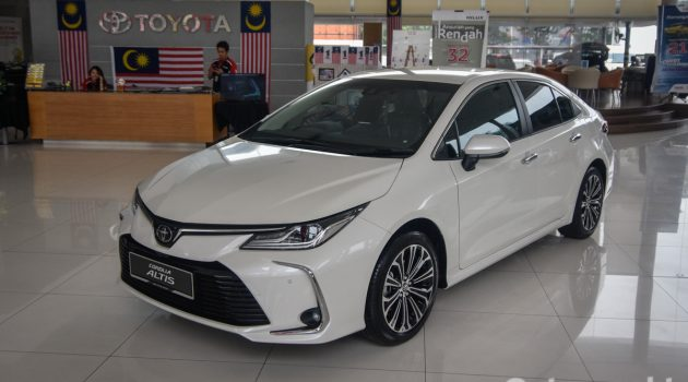 2019 Toyota Corolla 实车现身展示厅,RM 128,888 起跳