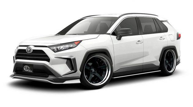 Toyota RAV4 KUHL 空力套件帅气登场