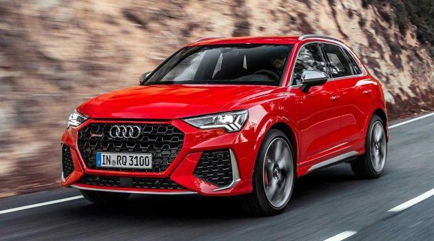 Audi RS Q3 /RS Q3 Sportback 正式发布,395Hp/480Nm