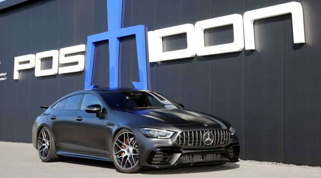 Posaidon Mercedes-AMG GT 63 S ,880 Hp 的四门房跑