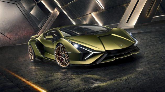 Lamborghini Sian 正式发表,808 Hp,2.8秒破百