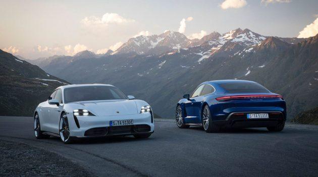 Porsche Taycan 纯电动轿跑发表,2.8秒破百