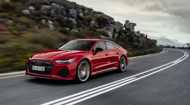 591 Hp 帅气房跑, Audi RS7 Sportback 正式发表
