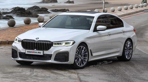 2020年发布, BMW 5 Series 小改款更显霸气
