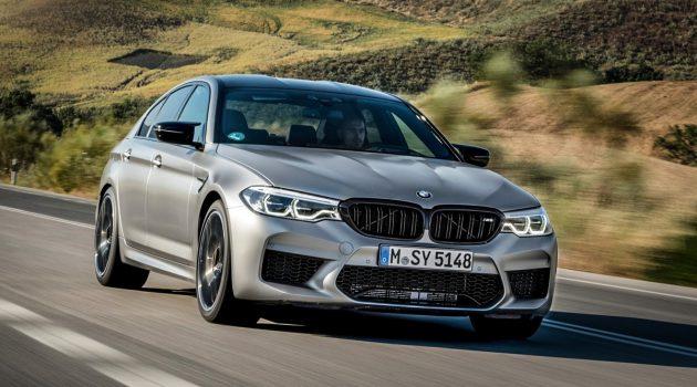 BMW M5 CS 动力信息曝光 ,最大马力超过 617 Hp