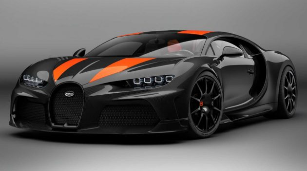 Bugatti Chiron Super Sport 300+ ,量产版最速超跑来了