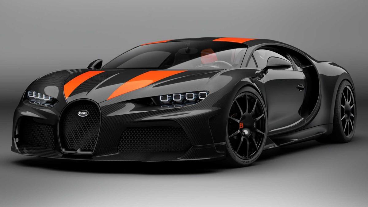 Bugatti Chiron Super Sport 300+ ,量产版最速超跑来了!