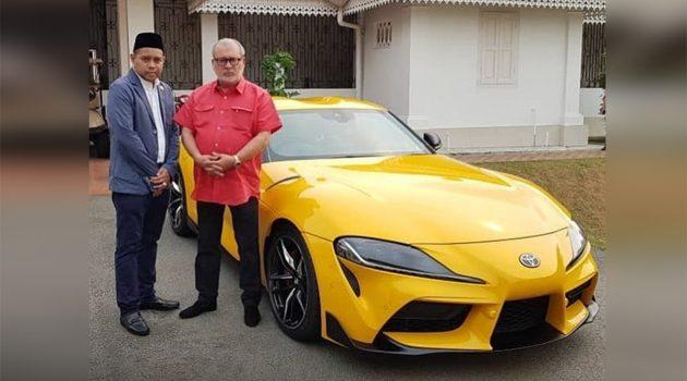 柔佛苏丹成为全马首位 Toyota Supra A90 车主