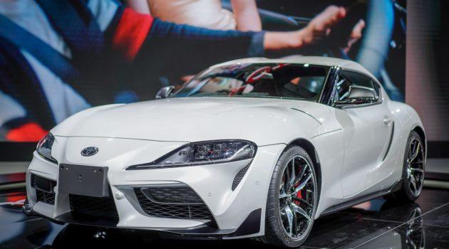 Toyota Supra A90 2.0涡轮版本亚洲开售,我国版已完售